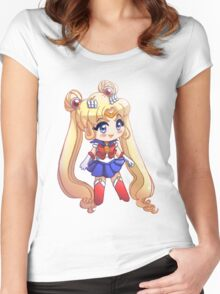 sailor moon Women's Fitted Scoop T-Shirt