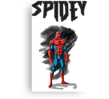 spidey design t-shirt Canvas Print
