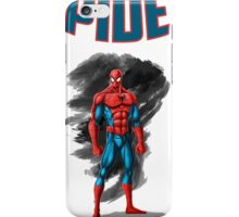 spidey design t-shirt-02 iPhone Case/Skin