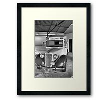 Wartime Ambulance Framed Print