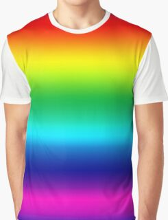 Beautiful Colorful Rainbow - Make a Wish Somewhere Over - Duvet Cover T-Shirt Skirt Graphic T-Shirt