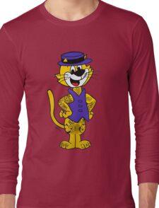 Top Cat inked up. Original artwork by WRTISTIK. Long Sleeve T-Shirt