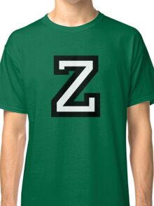 Letter Z two-color Classic T-Shirt