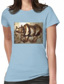 Dicerorhinus  Womens Fitted T-Shirt
