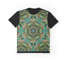 Green Terrarium Kaleidoscope Graphic T-Shirt