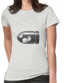 Bullet Bill Womens Fitted T-Shirt