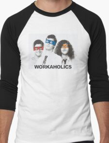 Workaholics tmnt Men's Baseball ¾ T-Shirt