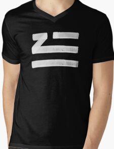 Zhu logo Mens V-Neck T-Shirt
