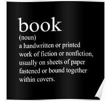 Book Definition Poster