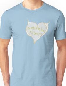 Hearty Greeting Unisex T-Shirt