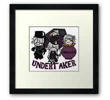 UndertakerS chibi Framed Print