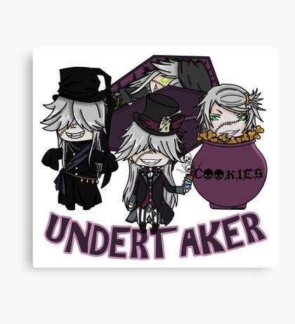 UndertakerS chibi Canvas Print