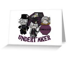 UndertakerS chibi Greeting Card