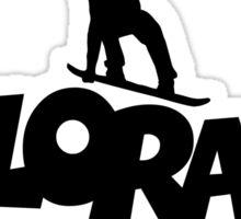 Colorado Apres Ski Snowboarding Design Sticker