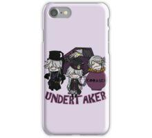 UndertakerS chibi iPhone Case/Skin