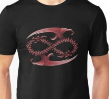 Infinity Dragons_Red Unisex T-Shirt
