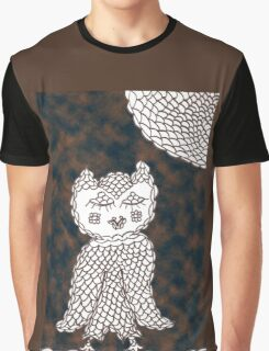 Olive Owl in the Dark Graphic T-Shirt
