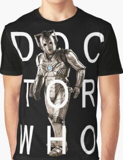 Doctor Who - Cyberman Title [Black] Graphic T-Shirt