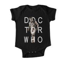 Doctor Who - Cyberman Title [Black] One Piece - Short Sleeve