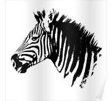 MBIZI Original Zebra Poster