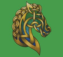 Celtic Horse One Piece - Short Sleeve