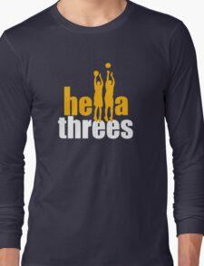 Hella Threes Long Sleeve T-Shirt