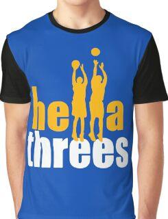 Hella Threes Graphic T-Shirt
