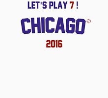 Let's Play 7 ! Chicago Cubs 2016 Men's Baseball ¾ T-Shirt