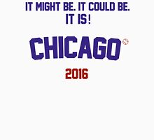 It might be. It could be. It is! Chicago Cubs 2016 Men's Baseball ¾ T-Shirt