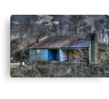 The Blue Shed Canvas Print