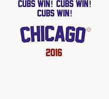 Cubs Win! Cubs Win! Cubs Win! Chicago Cubs 2016 Men's Baseball ¾ T-Shirt