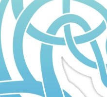 Celtic Horse_Teal & Aqua Blend Sticker