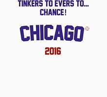 Tinkers to Evers to...Chance! Chicago Cubs 2016 Men's Baseball ¾ T-Shirt