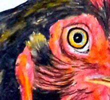 Perky Hen Sticker