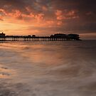 At Day's End - Cromer Pier, Norfolk by Ursula Rodgers