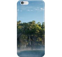 Morning at the swamp iPhone Case/Skin