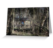 Through the Alder Wood Greeting Card