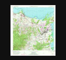 USGS TOPO Map Puerto Rico PR Fajardo 362415 1962 20000 Unisex T-Shirt