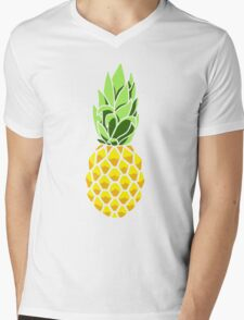 Pineapple Mens V-Neck T-Shirt