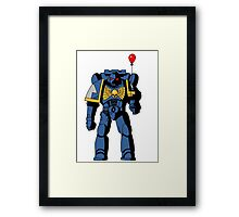 The codex approves Framed Print