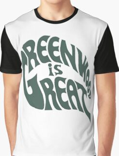 Greenwood Is Great Graphic T-Shirt