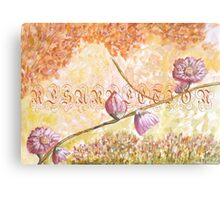 Easter time 2 Canvas Print