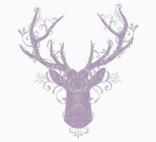 Deer Head Kids Tee