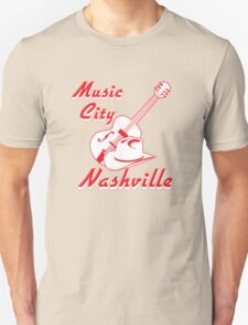 Nashville. Music city Unisex T-Shirt