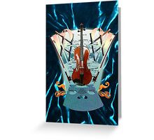Viola verve Greeting Card