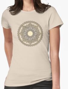 Sacred Geometry: Flower Of Life Mandala IV Womens Fitted T-Shirt