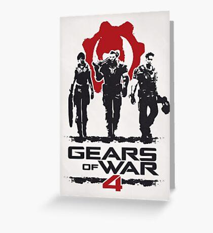Gears Of War 4 Greeting Card