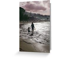 Late Afternoon on Lorne Beach Greeting Card