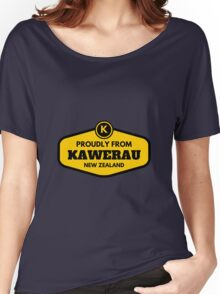Proudly From Kawerau New Zealand Women's Relaxed Fit T-Shirt