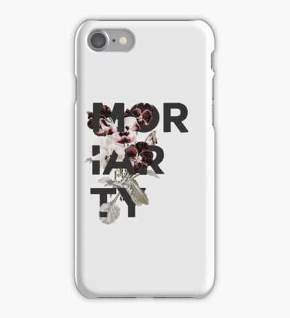 Floral Moriarty iPhone Case/Skin